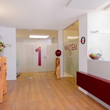 Praxis Silvia Wischniewski - Eingangsbereich