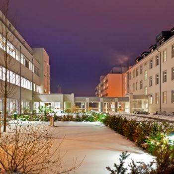 Johanniter Gästehaus - Das Gästehaus im Winter