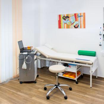 Dr. Siebecker - Neurologische Praxis - Behandlungszimmer