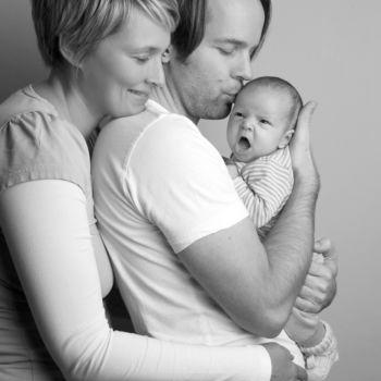 Familienshooting - Das freche Baby