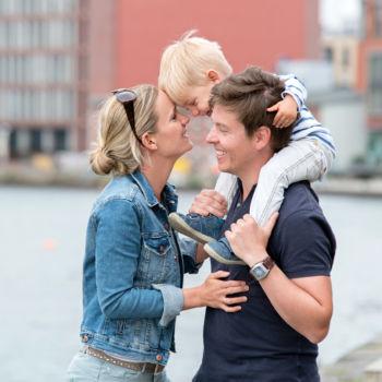 Familienspaß am Hafen