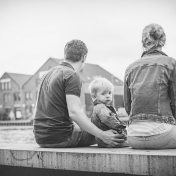 Familienshooting - Hafenpromenade
