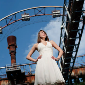 Fashionshooting auf Zollverein