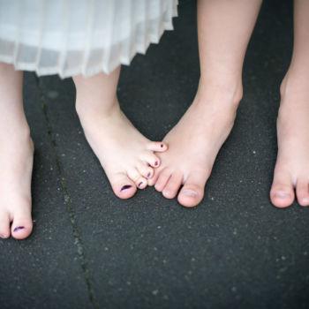 Kinderfotos - Geschwister - Füße