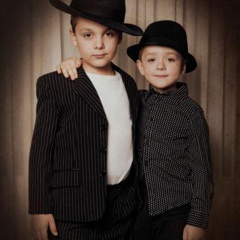 Kinderfotos - Zwei Brüder - Eine Gang