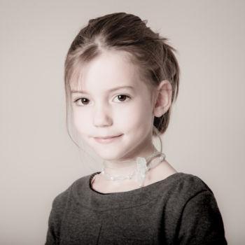 Das kleine Mädchen mit den Kulleraugen