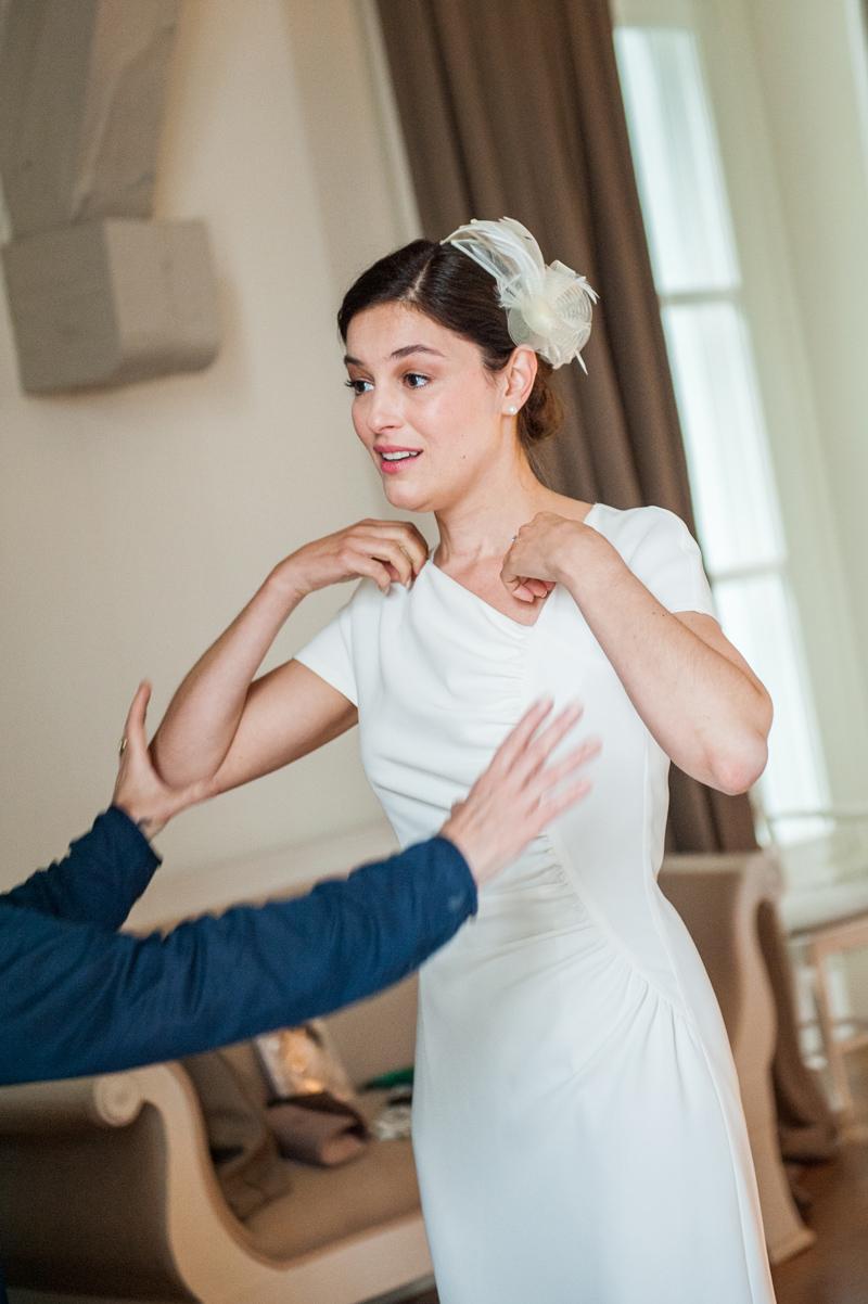 Hochzeit - Schloss Gartrop - Die Braut - Nervöse Braut - Fotografie ...